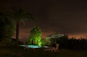 Zwembad 's avonds 2 (Zwemmen)